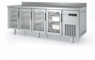 Coreco Counter Fridge with Glass Doors 700mm – MRGV