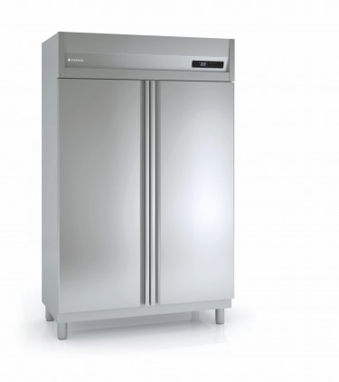 Coreco Top Mounted Double Door Upright Slim Line Freezer GSN 125