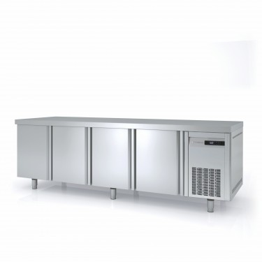Coreco 800mm Bakery Fridge Counter MRP with Solid Doors