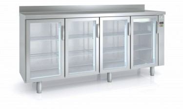Coreco Back Bar Counter Fridge with Glass Doors FMRPV