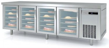 Coreco 800mm Bakery Counter Fridge with Glass Doors MRPV