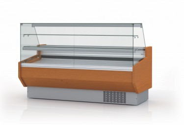 Coreco Pastry Serve Over Counter (with shelves) Economy Range – Line 9