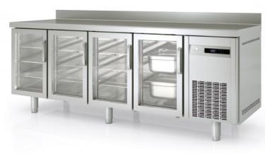 Coreco Glass Door Counter Freezer MCGV