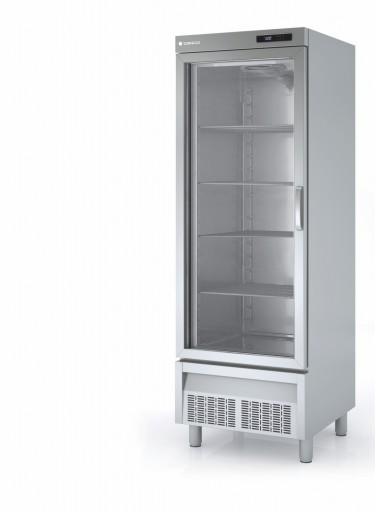 Coreco SNACK Bottom Mounted Glass Door Freezer