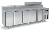 Coreco 5 Solid Door Sushi Chef Counter MFE170-270-1/6-ST