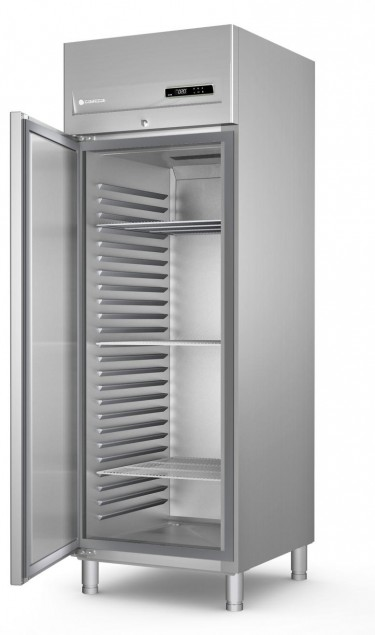 Coreco ACG-751-PF Single Solid Door Upright Freezer GN 2/1Cabinet