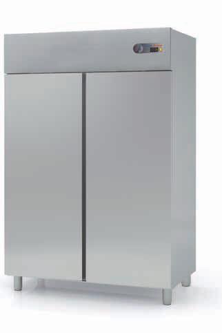 Coreco S-Line Solid Double Door GN 2/1 Upright Freezer CGN-1002-S