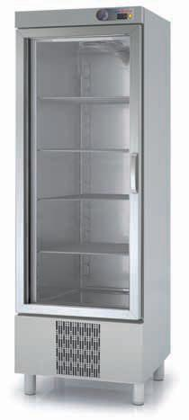 Coreco S-Line B/M Single Glass Door Upright Fridge CSRV-751-S