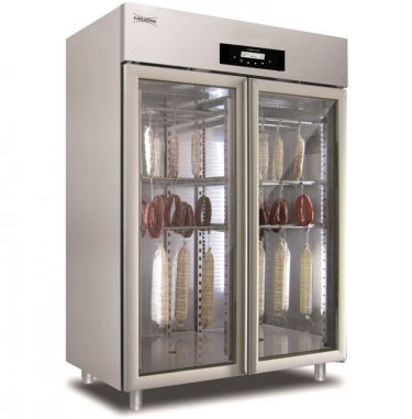 Everlasting Stagionatore for Charcuterie- Double Door STG 1500 Glass LCD