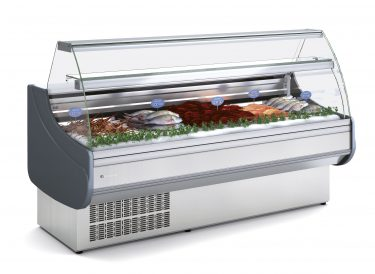 Coreco LINE 9 Fish Serve Over with Cold Storage