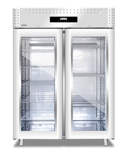 Everlasting Stagionatore for Charcuterie- Double Door STG Glass VIP LCD