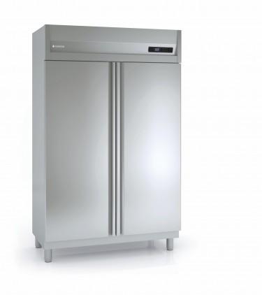 Coreco Top Mounted Double Door Upright Slim Line Freezer GSN 125