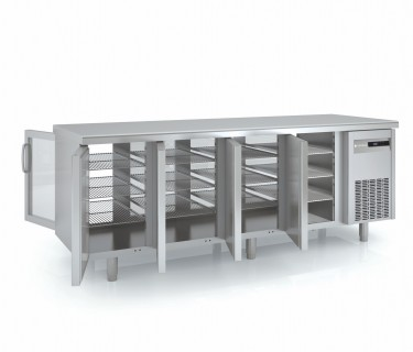 Coreco Pass Through Solid Door Refrigerated Counter- MFCG Range