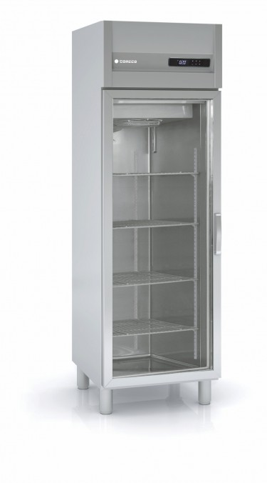 Coreco EURO-SNACK 400 Glass Door Upright Freezer