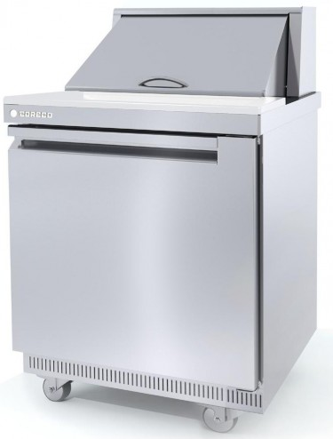 Coreco Saladette/Sandwich Single Solid Door GN 1/1Refrigerated Counter-SDT