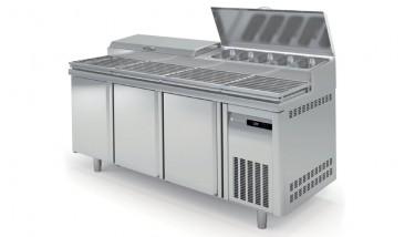 Coreco 3 Solid Door 800 Range Big Salad Chef Counter MFE180-200