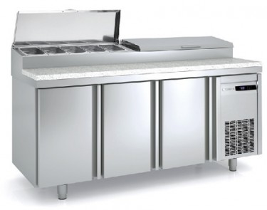 Coreco 3 Solid Door 60-70 Range Salad Chef Counter MFE160-200
