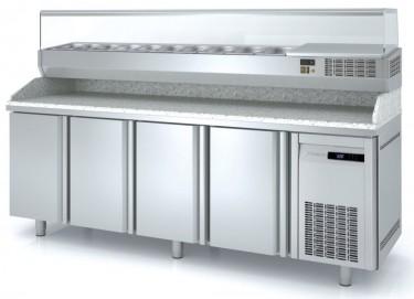 Coreco Solid Door 700mm Deep Pizza Counter MR70 Range
