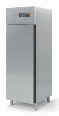 Coreco S-Line Single Solid Door Upright GN 2/1 Freezer CGN-751-S