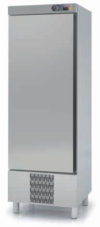 Coreco S-Line Single Door Upright Fridge CSR-751-S