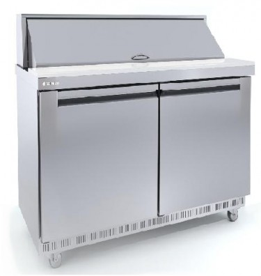 Coreco Saladette/Sandwich Double Solid Door GN 1/1Refrigerated Counter SDT-48
