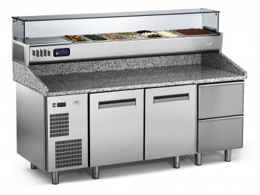 Everlasting Professional Pizza Refrigerated Table- PZ 145