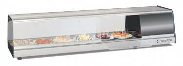 Pichos and Tapas Cooler Display, Plate Glass-BPLA