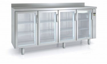 Coreco Counter Freezer with Glass Doors MCSPV