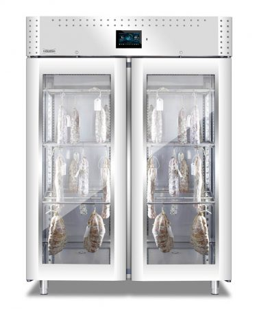 Everlasting Stagionatore VIP with Double Glass Door and ADV Control Panel
