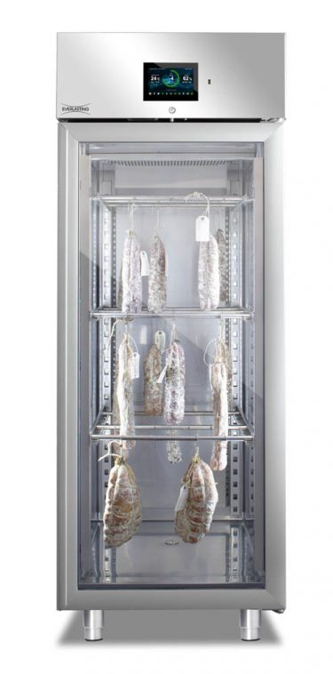 Everlasting Stagionatore with Single Glass Door and ADV Control Panel