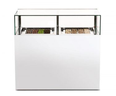 Iglu Chocolate Display Cabinet – Pearl