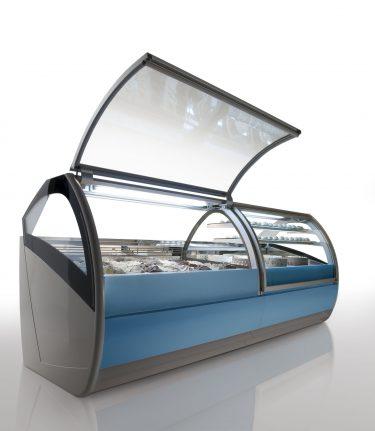 Orion Ice Cream Display Counter – Koreia