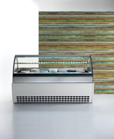 Orion Ice Cream Display Counter – Evo (semi-herm)