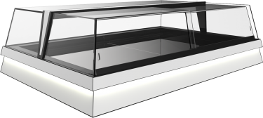 Orion Drop-in Sushi Display Case – Jobs T+