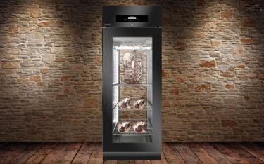 Everlasting Stagionatore Panorama 700 Black Meat Ageing Cabinet