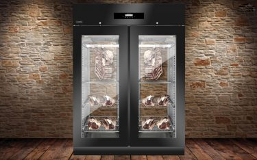 Everlasting Stagionatore Panorama 1500 Black Meat Ageing Cabinet